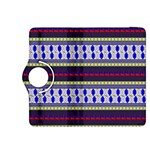 Colorful Retro Geometric Pattern Kindle Fire HDX 8.9  Flip 360 Case Front