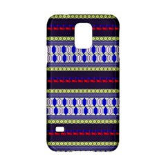 Colorful Retro Geometric Pattern Samsung Galaxy S5 Hardshell Case