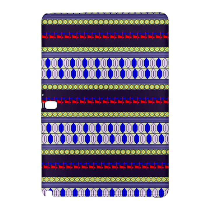 Colorful Retro Geometric Pattern Samsung Galaxy Tab Pro 10.1 Hardshell Case