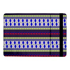 Colorful Retro Geometric Pattern Samsung Galaxy Tab Pro 10 1  Flip Case