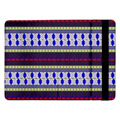 Colorful Retro Geometric Pattern Samsung Galaxy Tab Pro 12.2  Flip Case
