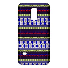 Colorful Retro Geometric Pattern Galaxy S5 Mini