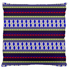 Colorful Retro Geometric Pattern Large Flano Cushion Case (Two Sides)