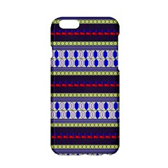 Colorful Retro Geometric Pattern Apple iPhone 6/6S Hardshell Case