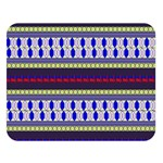 Colorful Retro Geometric Pattern Double Sided Flano Blanket (Large)  80 x60 Blanket Front