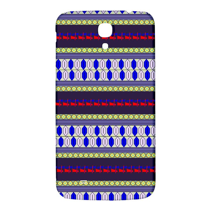 Colorful Retro Geometric Pattern Samsung Galaxy Mega I9200 Hardshell Back Case