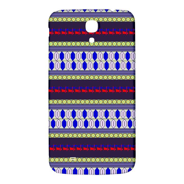 Colorful Retro Geometric Pattern Samsung Galaxy Mega I9200 Hardshell Back Case