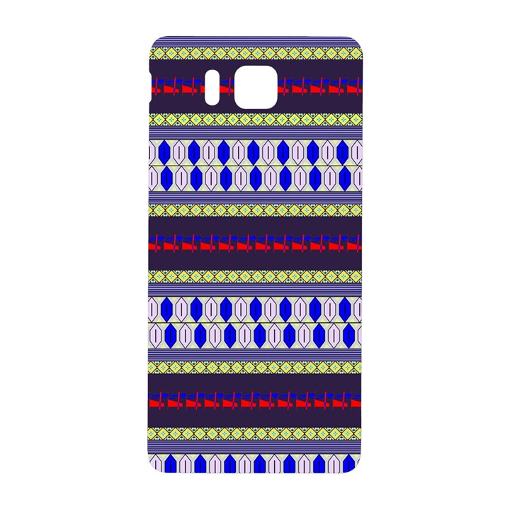 Colorful Retro Geometric Pattern Samsung Galaxy Alpha Hardshell Back Case