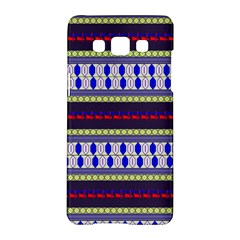 Colorful Retro Geometric Pattern Samsung Galaxy A5 Hardshell Case