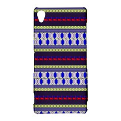 Colorful Retro Geometric Pattern Sony Xperia Z3