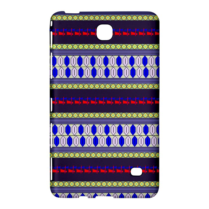 Colorful Retro Geometric Pattern Samsung Galaxy Tab 4 (7 ) Hardshell Case