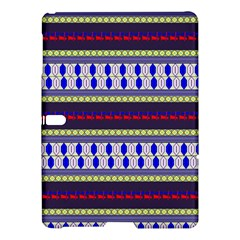 Colorful Retro Geometric Pattern Samsung Galaxy Tab S (10.5 ) Hardshell Case