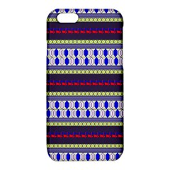 Colorful Retro Geometric Pattern iPhone 6/6S TPU Case