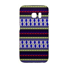 Colorful Retro Geometric Pattern Galaxy S6 Edge