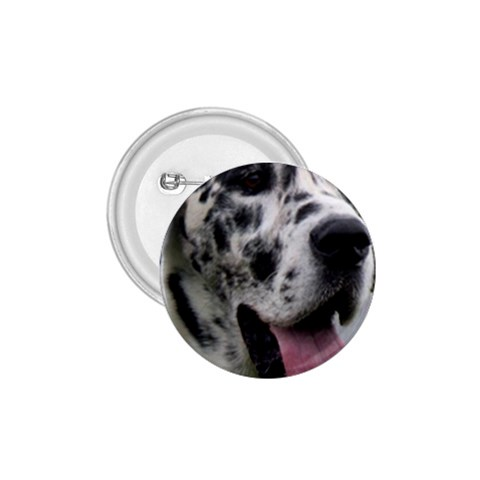 Great Dane harlequin  1.75  Buttons