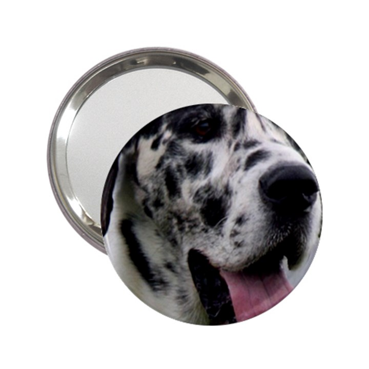 Great Dane harlequin  2.25  Handbag Mirrors