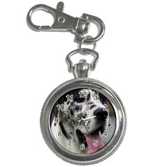 Great Dane harlequin  Key Chain Watches