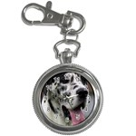 Great Dane harlequin  Key Chain Watches Front