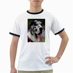 Great Dane harlequin  Ringer T-Shirts