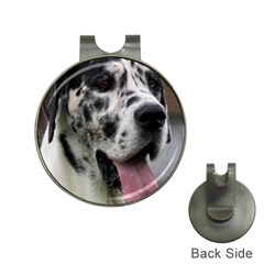 Great Dane harlequin  Hat Clips with Golf Markers