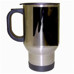 Great Dane harlequin  Travel Mug (Silver Gray) Left