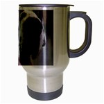 Great Dane harlequin  Travel Mug (Silver Gray) Right