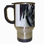 Great Dane harlequin  Travel Mugs (White) Left