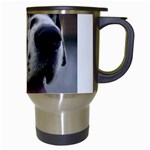Great Dane harlequin  Travel Mugs (White) Right