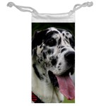 Great Dane harlequin  Jewelry Bags Back