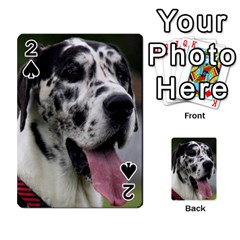 Great Dane harlequin  Playing Cards 54 Designs