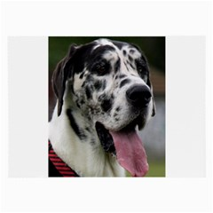 Great Dane harlequin  Large Glasses Cloth