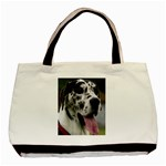 Great Dane harlequin  Basic Tote Bag (Two Sides) Front