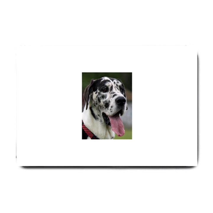 Great Dane harlequin  Small Doormat