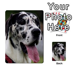 Great Dane harlequin  Multi-purpose Cards (Rectangle)