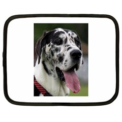 Great Dane harlequin  Netbook Case (Large)