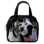 Great Dane harlequin  Classic Handbags (One Side) Front