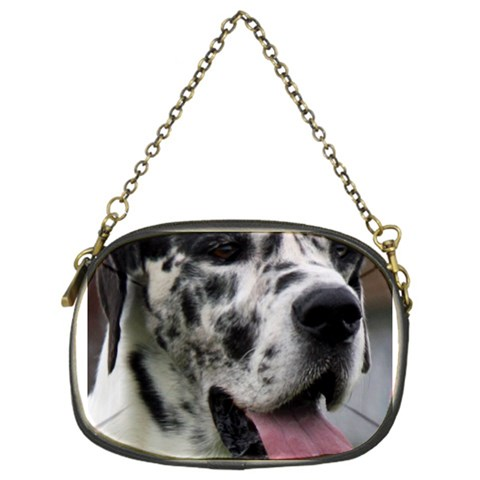Great Dane harlequin  Chain Purses (One Side)