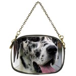 Great Dane harlequin  Chain Purses (Two Sides)  Front