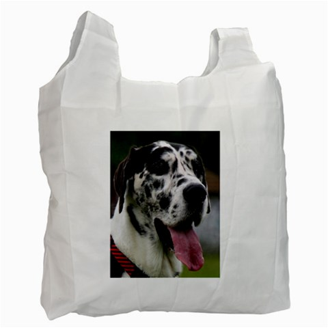 Great Dane harlequin  Recycle Bag (One Side)