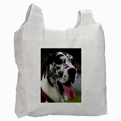 Great Dane harlequin  Recycle Bag (Two Side)