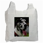 Great Dane harlequin  Recycle Bag (Two Side)  Front