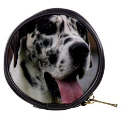 Great Dane Harlequin  Mini Makeup Bags