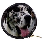 Great Dane harlequin  Mini Makeup Bags Front