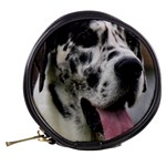 Great Dane harlequin  Mini Makeup Bags Back