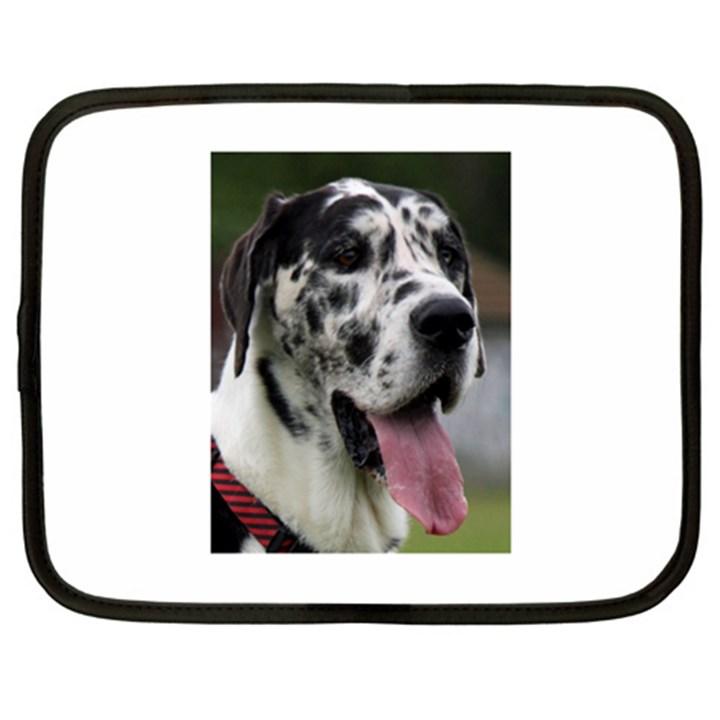 Great Dane harlequin  Netbook Case (XL)