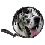 Great Dane harlequin  Classic 20-CD Wallets Front