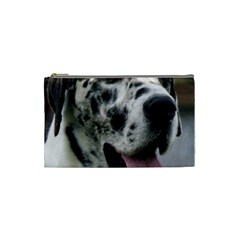 Great Dane harlequin  Cosmetic Bag (Small)