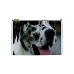 Great Dane harlequin  Cosmetic Bag (Medium)