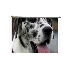 Great Dane harlequin  Cosmetic Bag (Large)