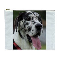 Great Dane harlequin  Cosmetic Bag (XL)